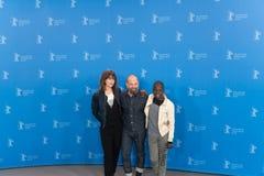 Συνέντευξη τύπου Styx κατά τη διάρκεια του 68ου Berlinale 2018 Στοκ εικόνες με δικαίωμα ελεύθερης χρήσης