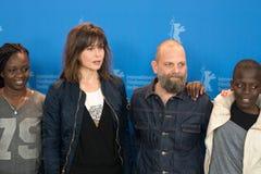 Συνέντευξη τύπου Styx κατά τη διάρκεια του 68ου Berlinale 2018 Στοκ φωτογραφίες με δικαίωμα ελεύθερης χρήσης
