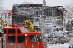 Συνέπεια πυρκαγιάς Στοκ Εικόνα