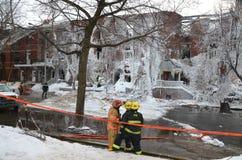 Συνέπεια πυρκαγιάς Στοκ φωτογραφίες με δικαίωμα ελεύθερης χρήσης