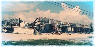 Συνέπεια του Micheal τυφώνα στοκ φωτογραφία