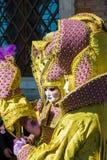 Συνήθεια καρναβαλιού στη Βενετία (Venezia) Βένετο Ιταλία Ευρώπη Στοκ Εικόνες