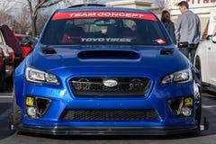 Συνήθεια Subaru WRX στοκ εικόνες
