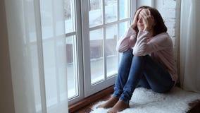 Συναίσθημα της θλίψης απόθεμα βίντεο