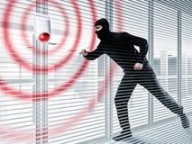 Συναγερμός για την κλοπή ενός κλέφτη στοκ εικόνα με δικαίωμα ελεύθερης χρήσης