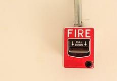 Συναγερμός πυρκαγιάς Στοκ Φωτογραφίες