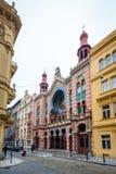Συναγωγή ιωβηλαίου της Ιερουσαλήμ στην Πράγα, Δημοκρατία της Τσεχίας Στοκ φωτογραφία με δικαίωμα ελεύθερης χρήσης