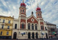 Συναγωγή στο Πίλζεν Στοκ φωτογραφίες με δικαίωμα ελεύθερης χρήσης
