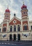 Συναγωγή στο Πίλζεν Στοκ Εικόνες