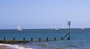 Συναγωνιμένος βάρκες Στοκ φωτογραφία με δικαίωμα ελεύθερης χρήσης