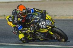 Συναγωνιμένος ομάδα Arlberg 24 ώρες Motorcycling Catalunya Στοκ Φωτογραφίες