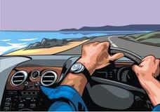 Συναγωνιμένος οδηγός Στοκ εικόνες με δικαίωμα ελεύθερης χρήσης
