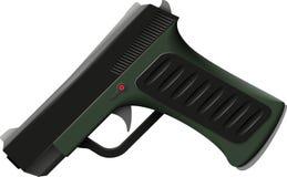 Συναγωνιμένος πιστόλι Στοκ Φωτογραφία