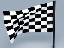 Συναγωνιμένος σημαία Στοκ Φωτογραφίες