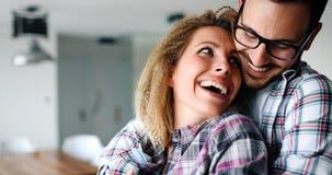 Συναισθηματική ερωτευμένη σύνδεση ζευγών Στοκ Εικόνες