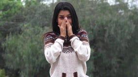Συναισθηματικός θηλυκός έφηβος φιλμ μικρού μήκους