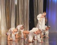 Συναισθηματικός χορός παιδιών Στοκ Εικόνες