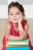 συναισθηματικό κορίτσι λίγο πορτρέτο Στοκ Εικόνες