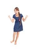 Συναισθηματικό κορίτσι στοκ φωτογραφία με δικαίωμα ελεύθερης χρήσης