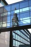 συναντά σύγχρονο παλαιό Στοκ φωτογραφία με δικαίωμα ελεύθερης χρήσης