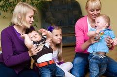 συναντήστε τις μητέρες Στοκ Φωτογραφία
