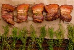συναντήστε roast Στοκ Εικόνες