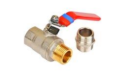 Συναρμολόγηση και βρύση υδραυλικών στοκ φωτογραφία με δικαίωμα ελεύθερης χρήσης