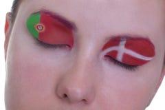 συναρπαστική αναμονή αντιστοιχιών ομάδας β Στοκ εικόνες με δικαίωμα ελεύθερης χρήσης