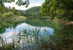 συναρπαστική της Κροατίας όψη plitvice πάρκων λιμνών εθνική Στοκ φωτογραφία με δικαίωμα ελεύθερης χρήσης