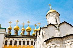 Συναρπαστικός διάσημος ο Annunciation καθεδρικός ναός και ο αρχάγγελος Στοκ εικόνα με δικαίωμα ελεύθερης χρήσης