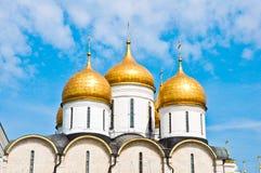 Συναρπαστικός διάσημος ο Annunciation καθεδρικός ναός στη Μόσχα Κρεμλίνο, Ρωσία Στοκ φωτογραφία με δικαίωμα ελεύθερης χρήσης
