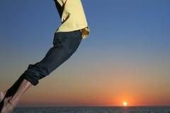 συναρπαστικό ηλιοβασίλ&ep Στοκ Φωτογραφίες