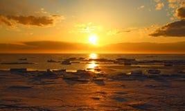 Συναρπαστικό ηλιοβασίλεμα Στοκ Εικόνες
