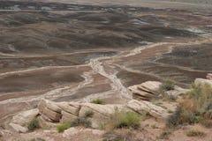 συναρπαστικό τοπίο ερήμων  Στοκ Εικόνες
