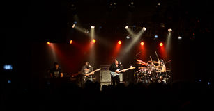 Συναυλία βράχου Στοκ Φωτογραφία