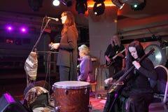 Συναυλία βράχου Στοκ φωτογραφία με δικαίωμα ελεύθερης χρήσης