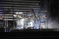 συναυλία επίθεσης ογκώ&d Στοκ Εικόνα