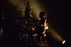 Συναυλία θεάτρων τυμπανιστών Boris μουσικής στοκ φωτογραφία με δικαίωμα ελεύθερης χρήσης