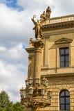 Συναυλία και στοά που χτίζουν Rudolfinum στην Πράγα, Δημοκρατία της Τσεχίας Στοκ εικόνα με δικαίωμα ελεύθερης χρήσης