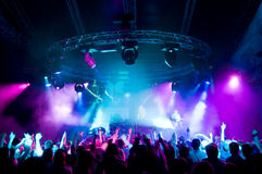 συναυλία που κρεμά έξω το Στοκ Φωτογραφία