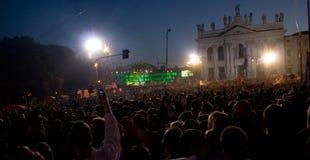 συναυλία Ρώμη Στοκ Φωτογραφία