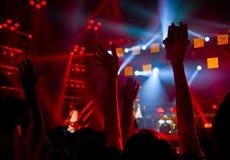 Συναυλία συμβαλλόμενων μερών Disco Στοκ εικόνα με δικαίωμα ελεύθερης χρήσης