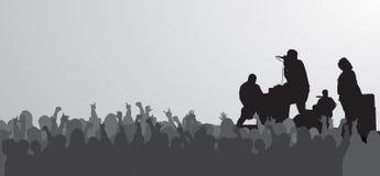 συναυλία τεράστια Στοκ Εικόνες