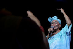 Συναυλία του Buena Vista Social Club στην Ουγγαρία Στοκ εικόνες με δικαίωμα ελεύθερης χρήσης