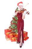 συναυλία Χριστουγέννων Στοκ Φωτογραφία