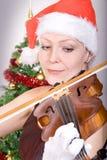 συναυλία Χριστουγέννων Στοκ φωτογραφία με δικαίωμα ελεύθερης χρήσης
