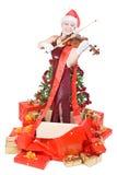 συναυλία Χριστουγέννων Στοκ φωτογραφίες με δικαίωμα ελεύθερης χρήσης