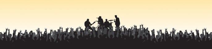 συναυλία 20 Στοκ εικόνες με δικαίωμα ελεύθερης χρήσης