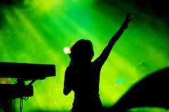 συναυλία Στοκ φωτογραφία με δικαίωμα ελεύθερης χρήσης