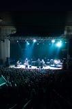 Συναυλία Bonobo σε Arenele Romane στοκ φωτογραφία με δικαίωμα ελεύθερης χρήσης
